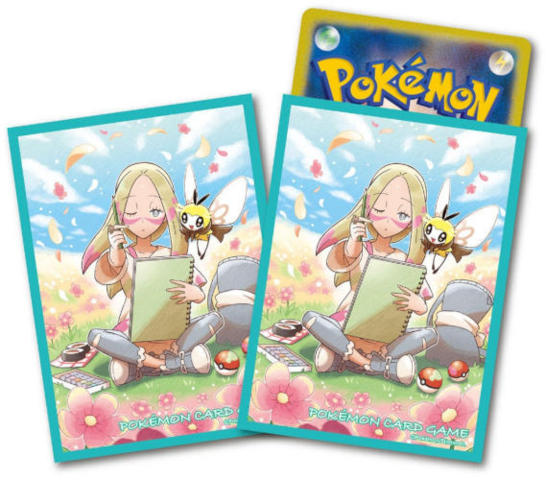 Japanese Pokemon Center Exclusive Sketch Time Sleeves - 64ct