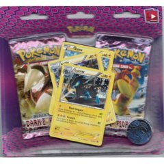 Pokemon Dark Explorers 2-Booster Blister - Luxray Promo