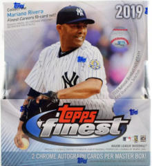 2019 Topps Finest MLB Baseball Hobby Box