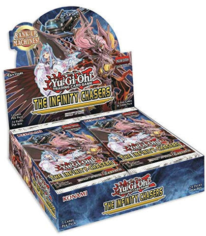 Yu-Gi-Oh The Infinity Chasers 1st Edition Booster Box