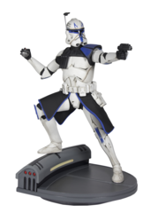 Star Wars Premier Collection - Clone Wars Rex Statue