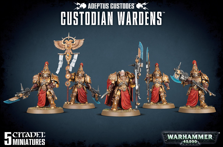 Adeptus Custodes - Custodian Wardens