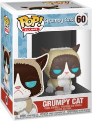 Pop! Icons - Grumpy Cat Vinyl Fig (Funko #60)