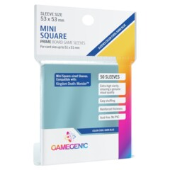 Gamegenic - Prime Board Game Sleeves - Mini Square 50 Count