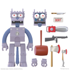 The Simpsons Ultimates! -  Robot Scratchy Action Figure