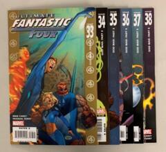 Ultimate Fantastic Four God War (Marvel 2004) #33-38 Set 33 34 35 36 37 38 Mike Carey (8.5+)