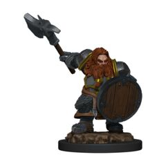 D&D Icons of the Realms - Premium Mini - Dwarf Male Fighter