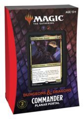 Adventures in the Forgotten Realms Commander Deck: Planar Portal (No store credit or pay in store)