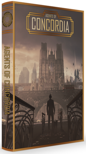 Agents of Concordia RPG Hard Cover