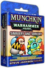 Munchkin Warhammer 40,000: Savagery and Sorcery