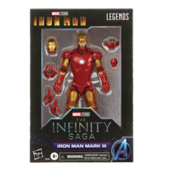 Marvel Legends - The Infinity Saga - Iron Man - Iron Man MK3 Action Figure
