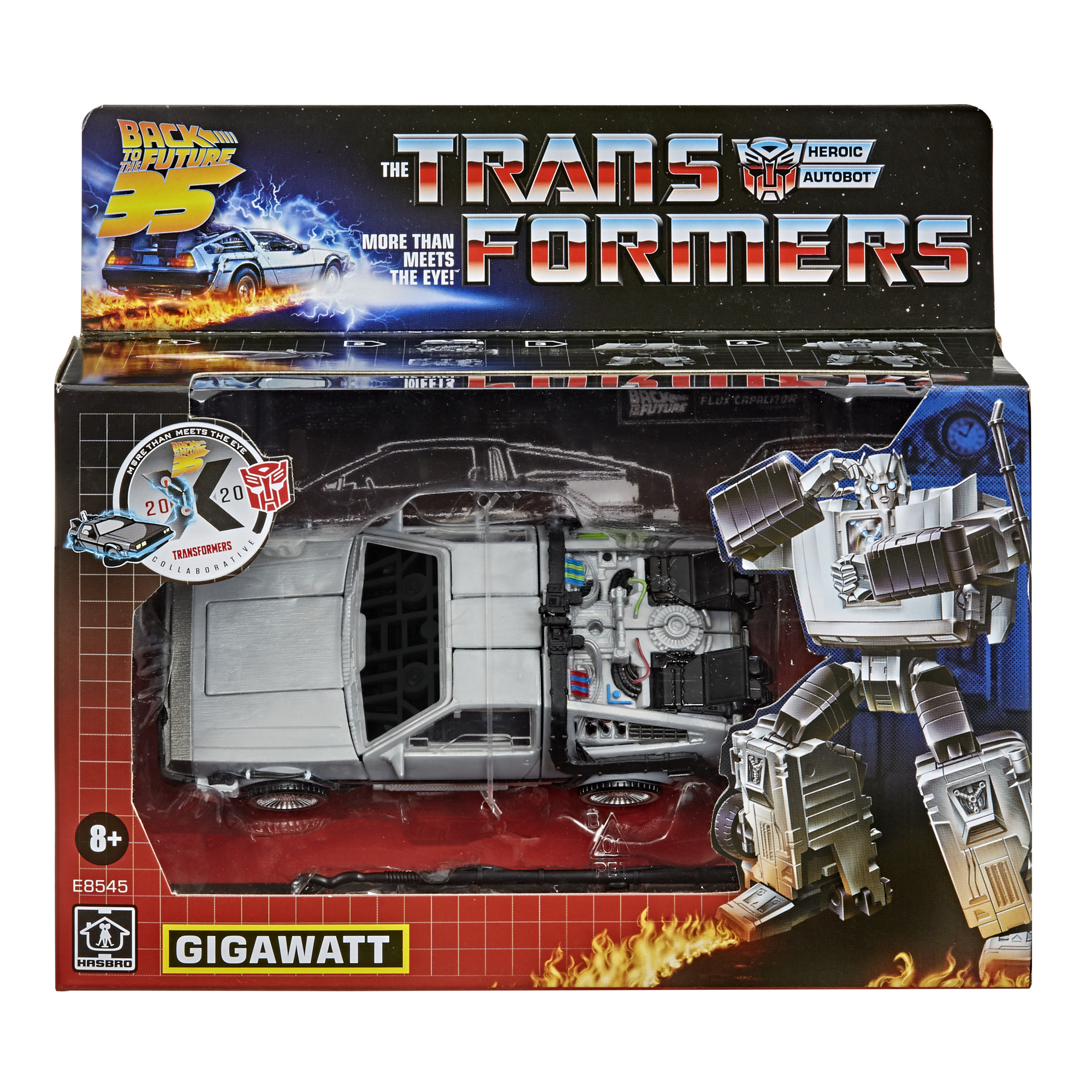 Transformers Generations / Back To The Future - Gigawatt Action Figure