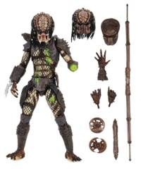 Predator 2 - Ultimate Battle Damaged City Hunter 7in Action Figure