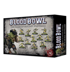Blood Bowl - The Scarcrag Snivellers Goblin Blood Bowl Team