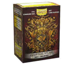 Dragon Shield - Brushed Art Sleeves - General Vicar 100 ct