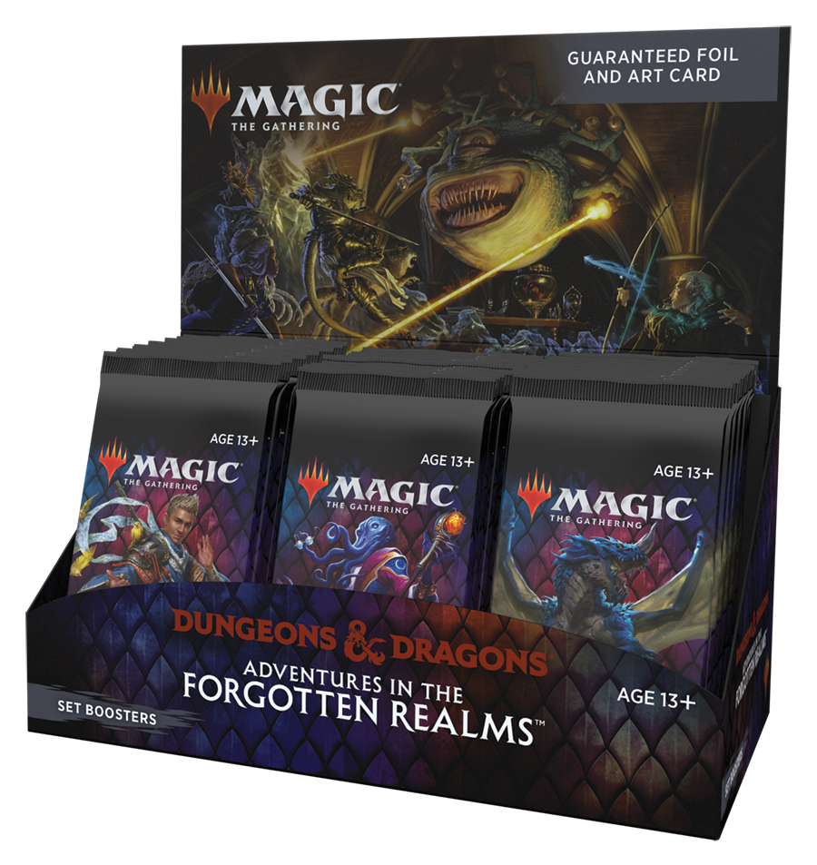 Adventures in the Forgotten Realms Set Booster Box (No store credit or pay in store)