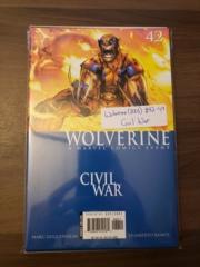Wolverine (2003) #42-49 - Civil War
