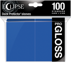 Ultra Pro - Sleeves - Pro Gloss Eclipse - Pacific Blue 100 ct