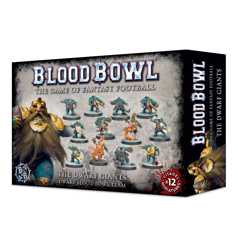 Blood Bowl - The Dwarf Giants Dwarf Blood Bowl Team