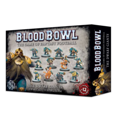 Blood Bowl - The Dwarf Giants Dwarf Blood Bowl Team