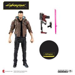 Cyberpunk 2077 - Male V 7in Action Figure