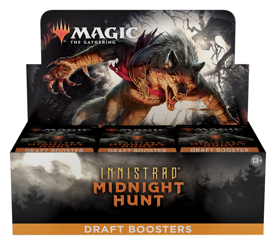 Innistrad: Midnight Hunt Draft Booster Box (no store credit)