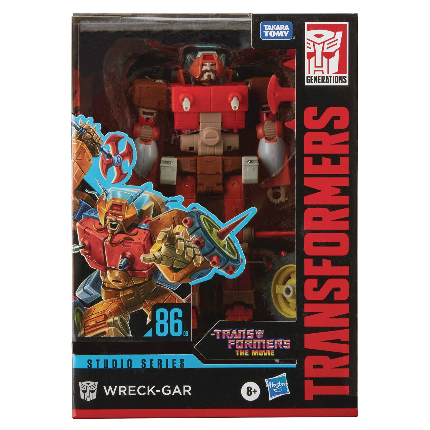 Transformers Generations - The Movie 86 Series #09 - Wreck-Gar (Voyager)