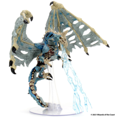 D&D Icons of the Realms - Premium Mini - Blue Dracolich