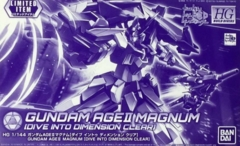 Gundam HG Build Divers - Gundam AGEII Magnum (Dive Into Dimension Clear) (1/144)