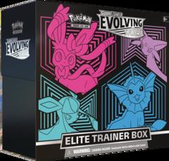 SWSH7 - Evolving Skies Elite Trainer Box Eevee Evolution 2 (see item description, use wishlist to be notified) (no store credit)