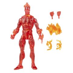 Marvel Legends - Fantastic Four Vintage - Johnny Storm 6in Action Figure