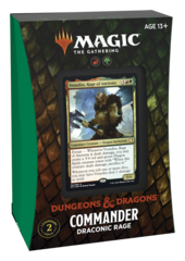 Adventures in the Forgotten Realms Commander Deck: Draconic Rage (No store credit or pay in store)
