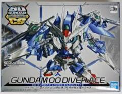 Gundam SD Cross Silhouette - Gundam 00 Diver Ace
