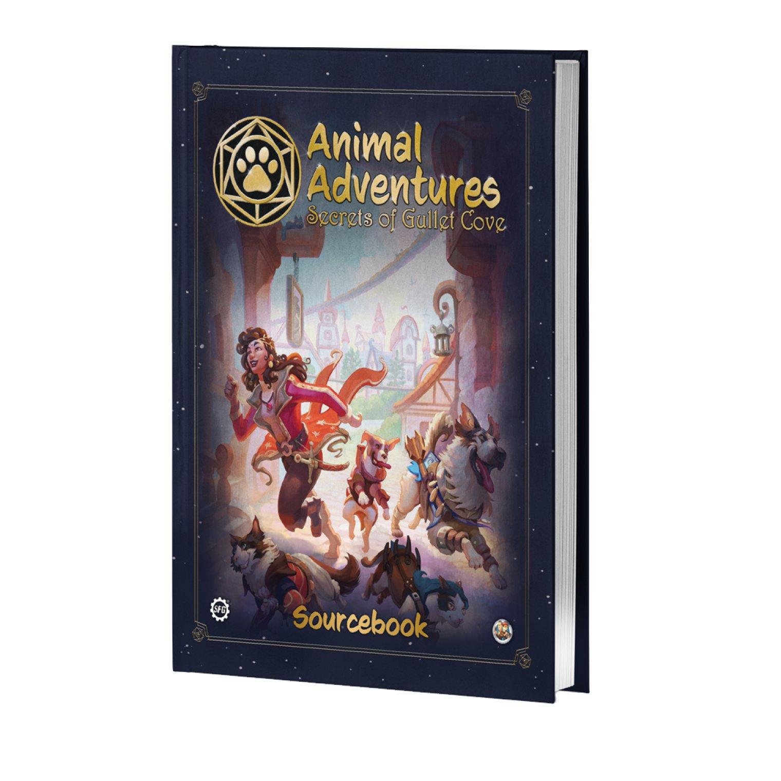 Animal Adventures: Secrets of Gullet Cove - Sourcebook