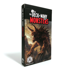 Deck of Many - Monsters