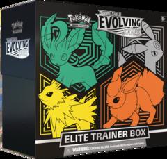 SWSH7 - Evolving Skies Elite Trainer Box Eevee Evolution 1 (see item description, use wishlist to be notified) (no store credit)