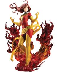 Marvel Kotobukiya - Dark Phoenix Rebirth Bishoujo Statue