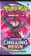 SWSH6 - Chilling Reign Booster Pack (see item description, use wishlist to be notified)