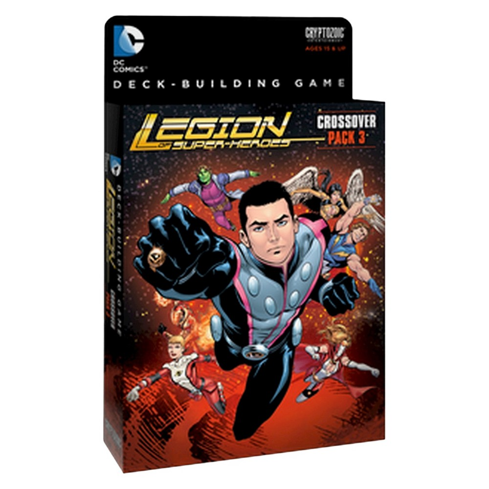 DC Deck Building Game - Crossover Pack 3 - Legion of Super-Heroes