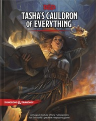 Dungeons & Dragon 5E - Tasha's Cauldron of Everything