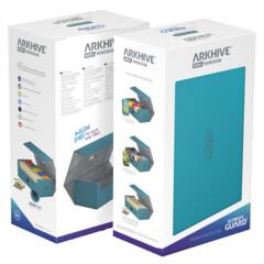 Ultimate Guard - Arkhive 800+ Xenoskin - Petrol Blue