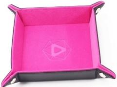Die Hard - Folding Square Dice Tray - Pink Velvet