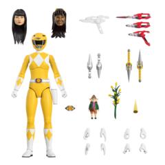 Mighty Morphin Power Rangers Ultimates! - Yellow Ranger Action Figure
