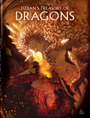 Dungeons & Dragons 5E - Fizban's Treasury of Dragons Alternate Cover