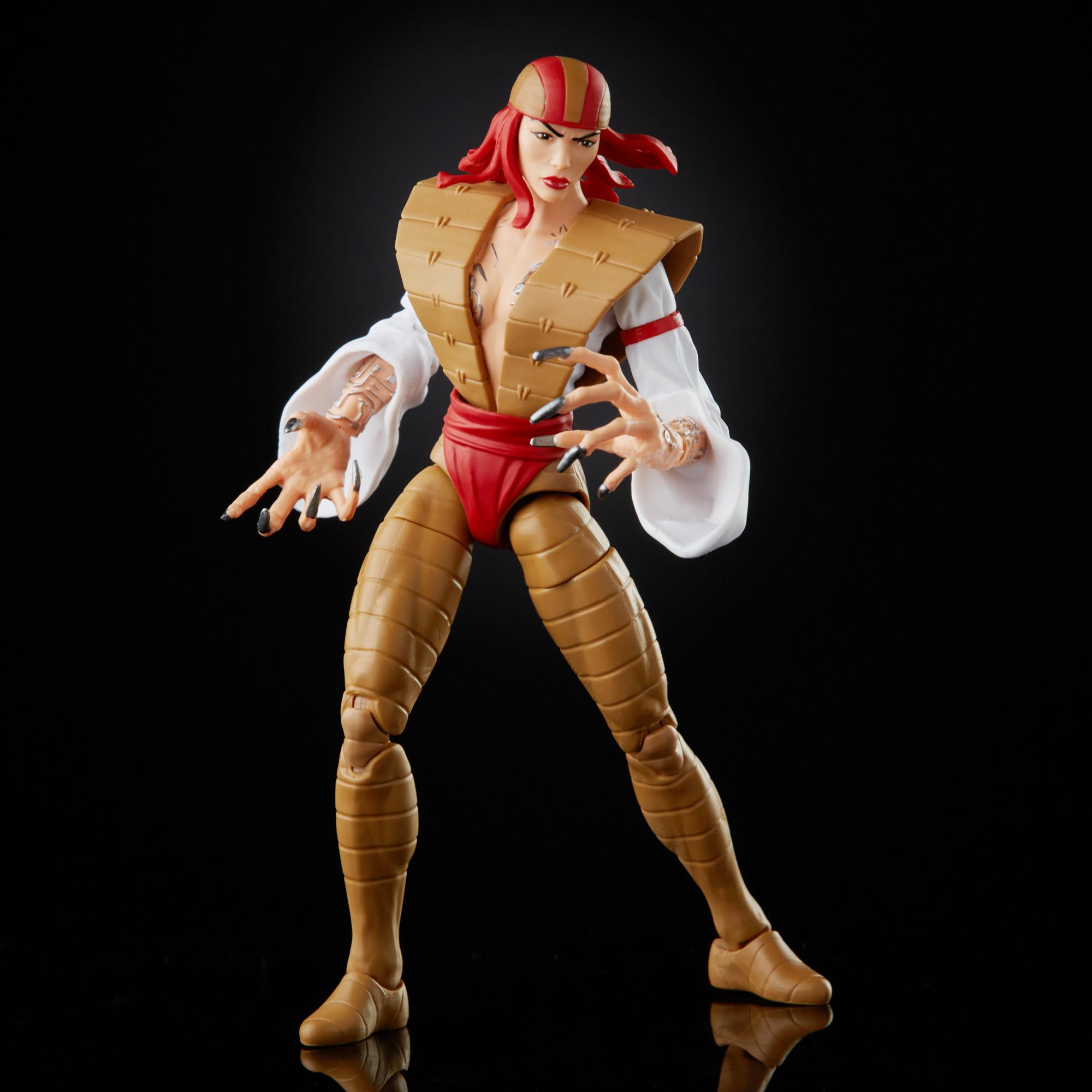 Marvel Legends - Super-Villains - Lady Deathstrike (BAF Xemnu)