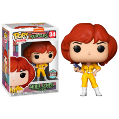 Pop! Retro Toys - TMNT - April O'Neil Specialty Series Exclusive