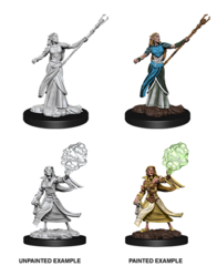 D&D Nolzur's Marvelous Miniatures - Elf Female Sorcerer - Wave 12