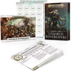 Warscrolls Cards - Ossiarch Bonereapers