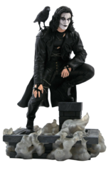 The Crow Movie Gallery Rooftop PVC Statue