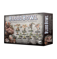 Blood Bowl - The Fire Mountain Gut Busters Ogre Blood Bowl Team